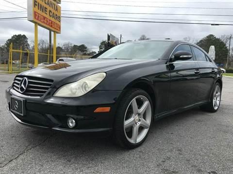 2007 Mercedes-Benz CLS for sale at Atlanta Fine Cars in Jonesboro GA