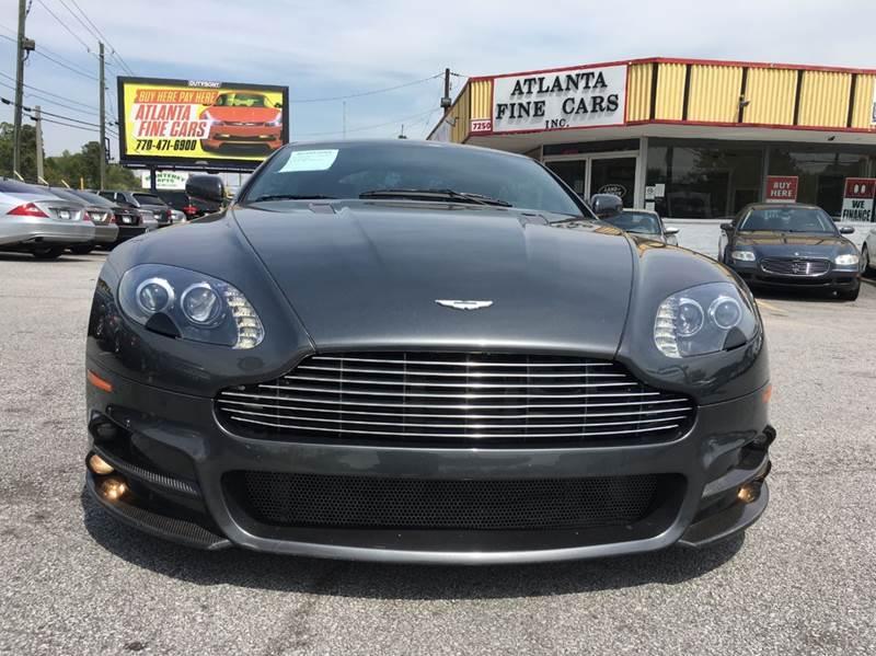 Aston Martin V Vantage Dr Coupe In Jonesboro GA Atlanta - Aston martin dealership atlanta