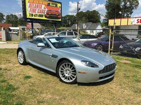Aston Martin Used Cars Used Cars For Sale Jonesboro Atlanta Fine Cars - Aston martin used for sale