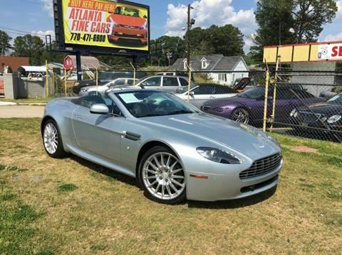2010 Aston Martin V8 Vantage For Sale In Jonesboro, GA