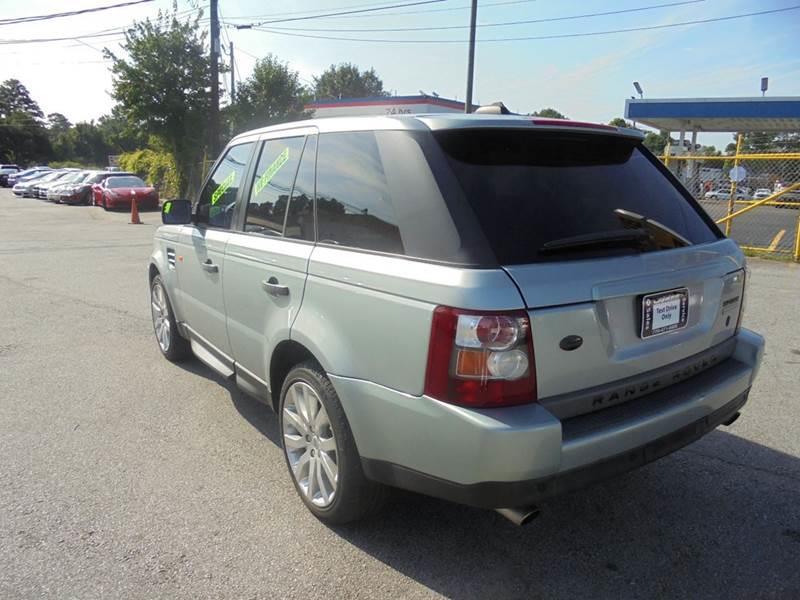 2006 Land Rover Range Rover Sport Supercharged 4dr SUV 4WD - Jonesboro GA