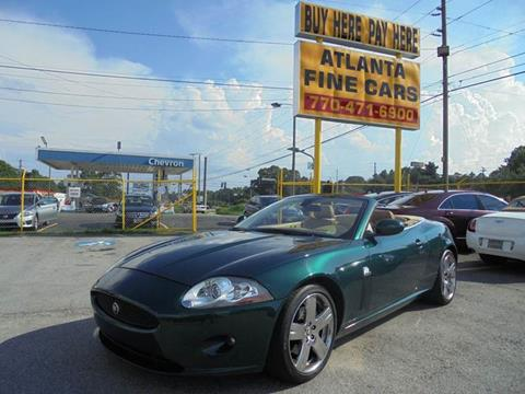 2008 Jaguar XK-Series for sale at Atlanta Fine Cars in Jonesboro GA