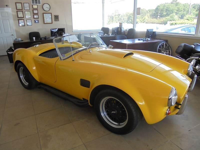 1966 Ford Mustang SVT Cobra for sale at Atlanta Fine Cars in Jonesboro GA