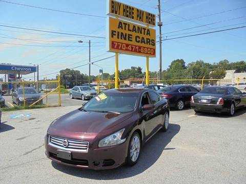 2014 Nissan Maxima for sale at Atlanta Fine Cars in Jonesboro GA