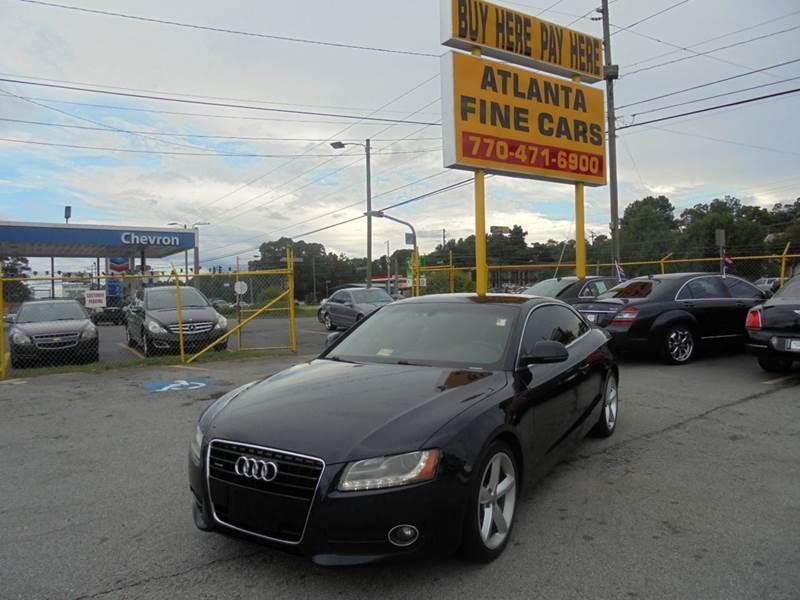 2009 Audi A5 for sale at Atlanta Fine Cars in Jonesboro GA