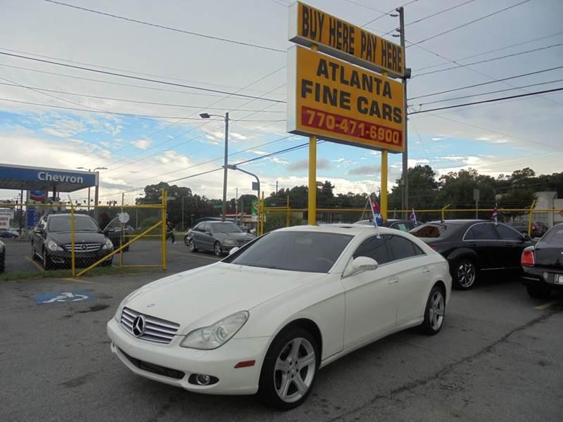 2006 Mercedes-Benz CLS for sale at Atlanta Fine Cars in Jonesboro GA