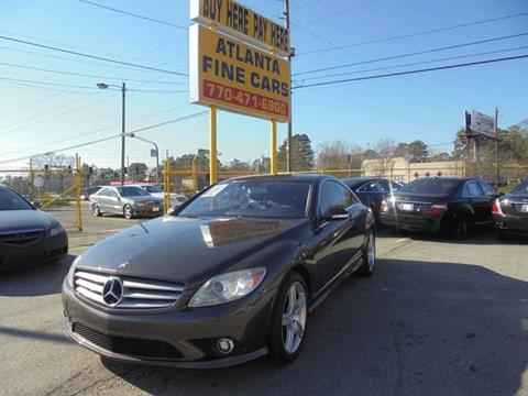 2008 Mercedes-Benz CL-Class for sale at Atlanta Fine Cars in Jonesboro GA