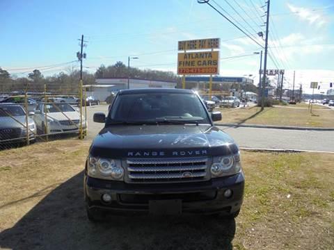 2009 Land Rover Range Rover Sport for sale at Atlanta Fine Cars in Jonesboro GA