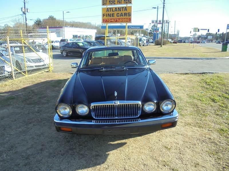 1986 jaguar xj series xj6 4dr sedan in jonesboro ga atlanta fine cars. Black Bedroom Furniture Sets. Home Design Ideas