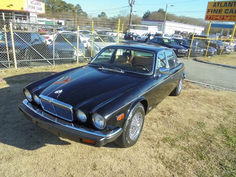 1986 Jaguar XJ-Series XJ6 4dr Sedan - Jonesboro GA
