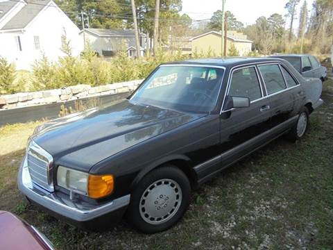 1991 Mercedes-Benz 560-Class for sale at Atlanta Fine Cars in Jonesboro GA