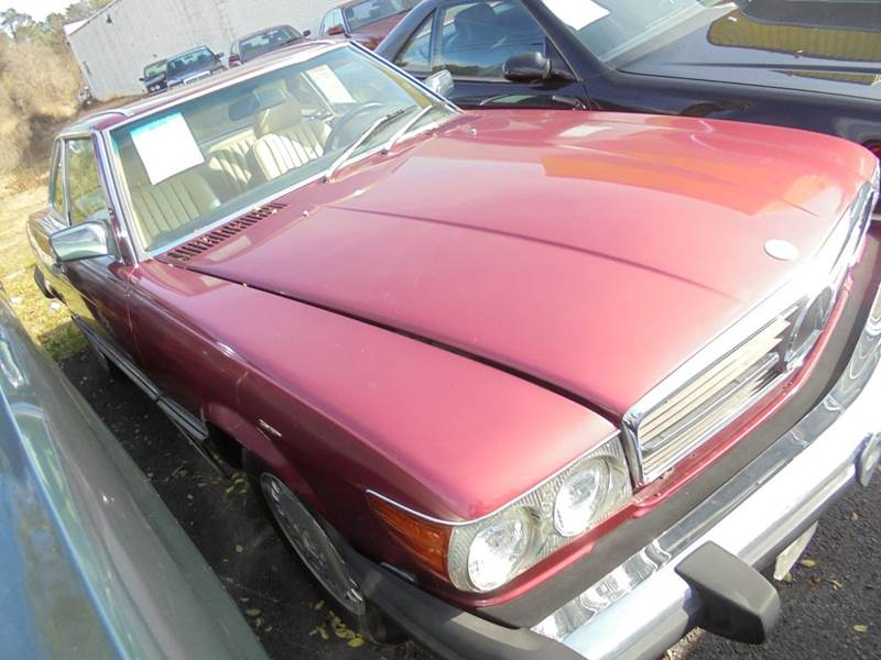 1989 mercedes benz 560 class 560 sl 2dr convertible in jonesboro ga atlanta fine cars. Black Bedroom Furniture Sets. Home Design Ideas