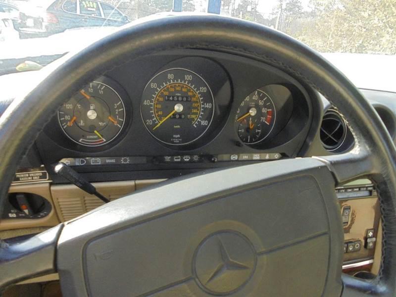 1989 Mercedes-Benz 560-Class 560 SL 2dr Convertible - Jonesboro GA