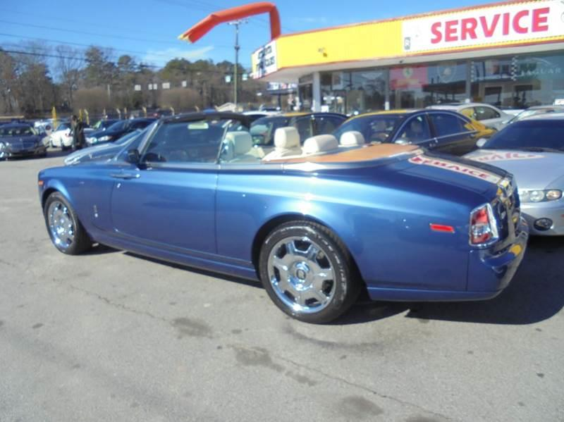 2009 Rolls-Royce Phantom Drophead Coupe 2dr Convertible - Jonesboro GA