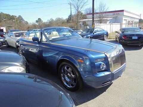 2009 rolls royce phantom drophead coupe 2dr convertible in jonesboro ga atlanta fine cars. Black Bedroom Furniture Sets. Home Design Ideas