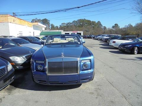 2009 Rolls-Royce Phantom Drophead Coupe for sale at Atlanta Fine Cars in Jonesboro GA