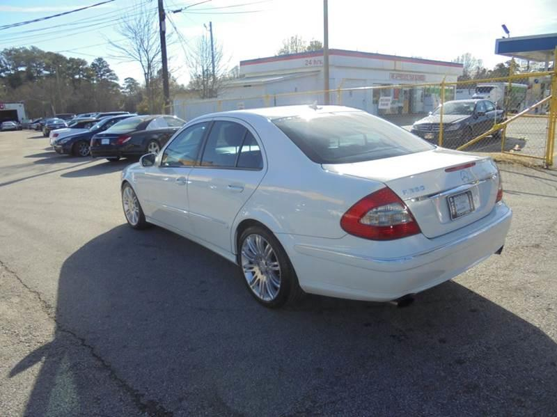 2008 Mercedes-Benz E-Class E 350 4dr Sedan - Jonesboro GA