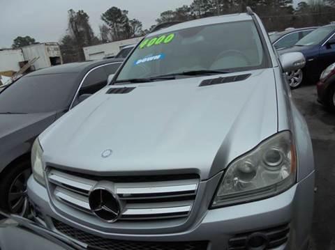 2007 Mercedes-Benz GL-Class for sale at Atlanta Fine Cars in Jonesboro GA
