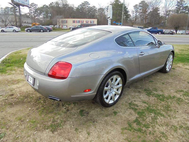 Buy Here Pay Here Atlanta Ga No Credit Check >> 2005 Bentley Continental AWD GT Turbo 2dr Coupe In Jonesboro GA - Atlanta Fine Cars