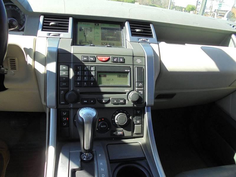 2006 land rover range rover sport hse 4dr suv 4wd in jonesboro ga atlanta fine cars. Black Bedroom Furniture Sets. Home Design Ideas