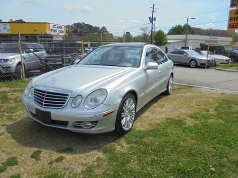 2007 Mercedes-Benz E-Class for sale at Atlanta Fine Cars in Jonesboro GA