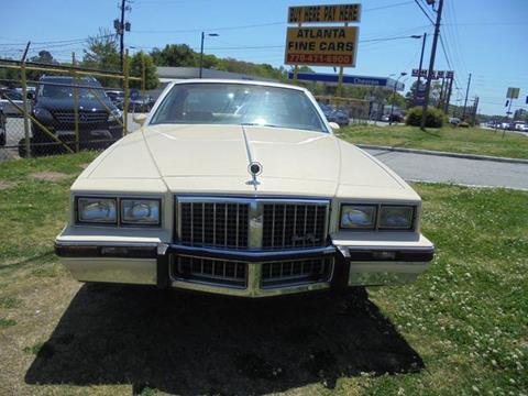 1986 Pontiac Grand Prix for sale at Atlanta Fine Cars in Jonesboro GA