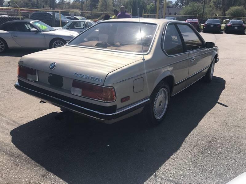 1986 BMW 6 Series  - Jonesboro GA