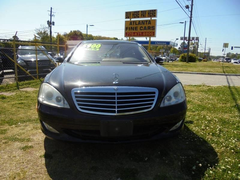 2007 Mercedes-Benz S-Class S550 4dr Sedan - Jonesboro GA