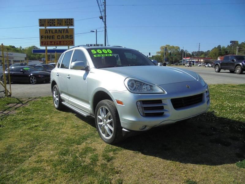 2008 Porsche Cayenne for sale at Atlanta Fine Cars in Jonesboro GA