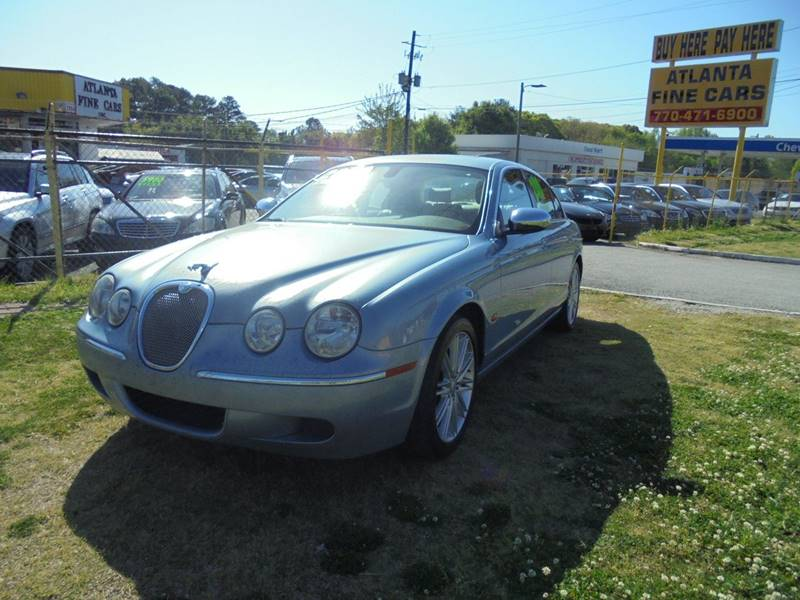 2008 jaguar s type 3 0 4dr sedan luxury in jonesboro ga atlanta fine cars. Black Bedroom Furniture Sets. Home Design Ideas