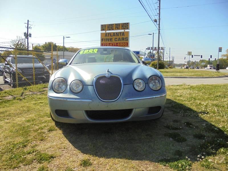 2008 Jaguar S-Type 3.0 4dr Sedan Luxury - Jonesboro GA