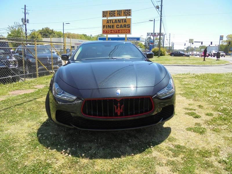 2014 Maserati Ghibli for sale at Atlanta Fine Cars in Jonesboro GA