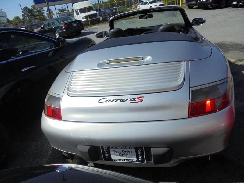 1999 Porsche 911 Carrera 2dr Convertible - Jonesboro GA