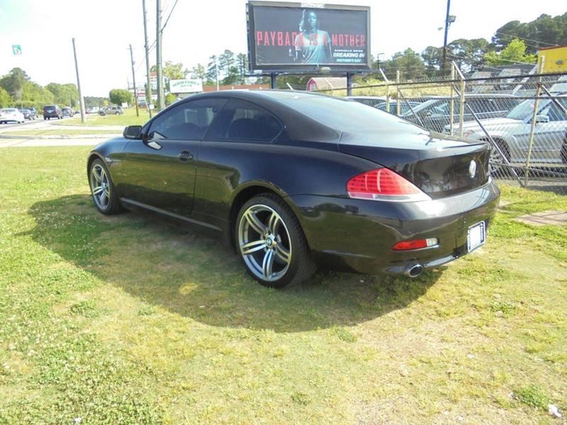 2006 bmw 6 series 650i 2dr coupe in jonesboro ga atlanta fine cars. Black Bedroom Furniture Sets. Home Design Ideas