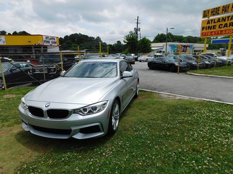 2014 BMW 4 Series for sale at Atlanta Fine Cars in Jonesboro GA