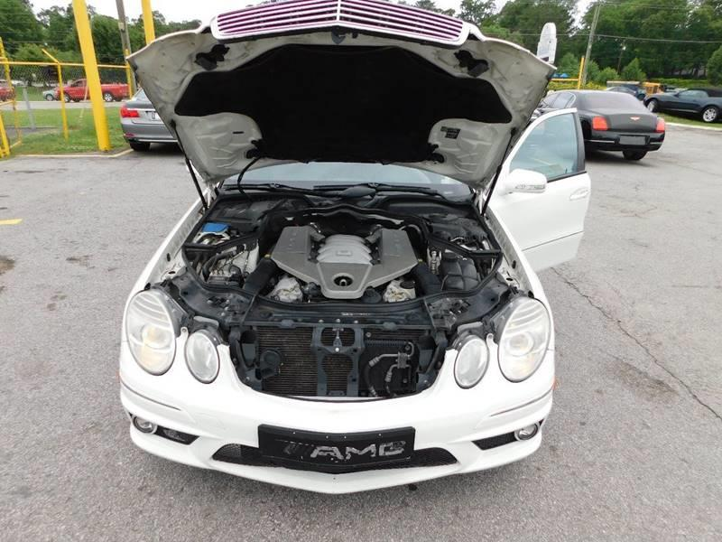 2008 Mercedes-Benz E-Class E 63 AMG 4dr Sedan - Jonesboro GA