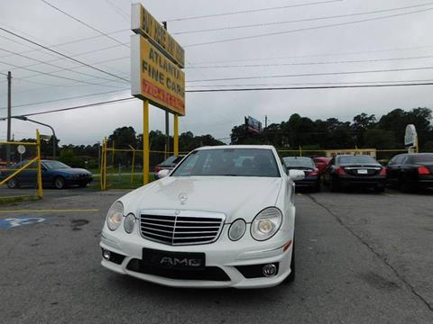 2008 Mercedes-Benz E-Class for sale at Atlanta Fine Cars in Jonesboro GA