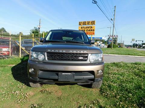 2011 Land Rover Range Rover Sport for sale at Atlanta Fine Cars in Jonesboro GA