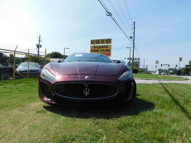 2011 Maserati GranTurismo for sale at Atlanta Fine Cars in Jonesboro GA