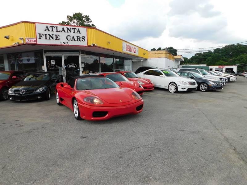 Buy Here Pay Here Atlanta Ga No Credit Check >> 2001 Ferrari 360 Spider 2dr Convertible In Jonesboro GA - Atlanta Fine Cars