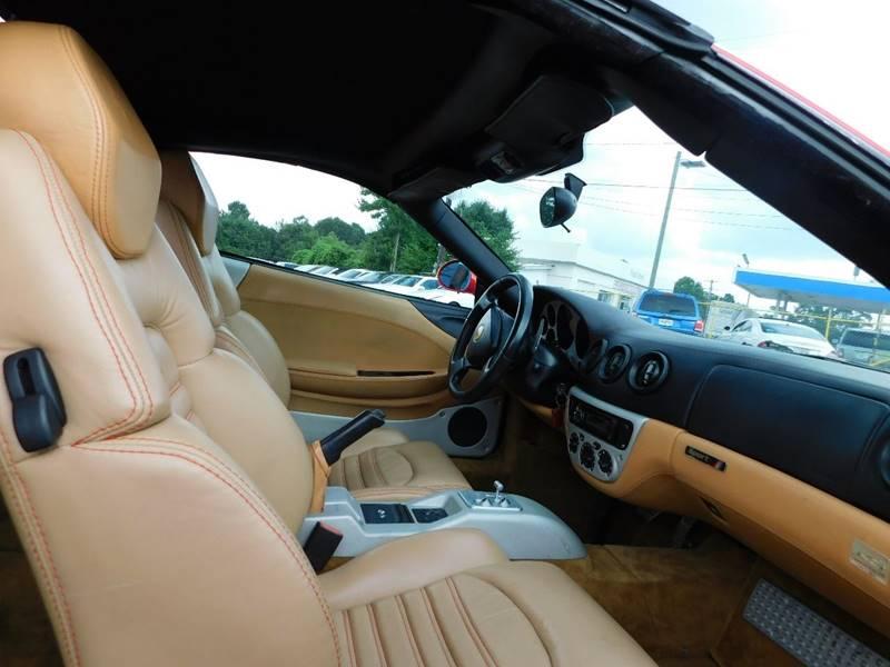 2001 ferrari 360 spider 2dr convertible in jonesboro ga atlanta fine cars. Black Bedroom Furniture Sets. Home Design Ideas