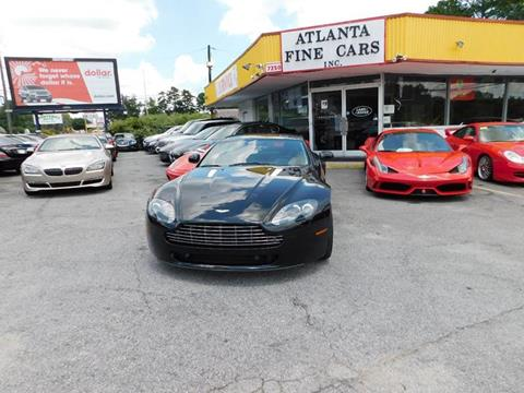 2010 Aston Martin V8 Vantage for sale at Atlanta Fine Cars in Jonesboro GA
