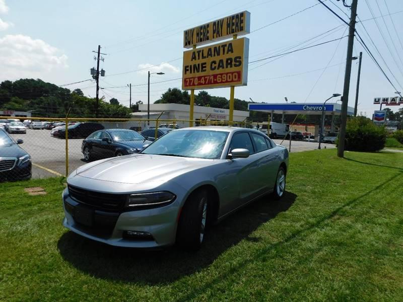 2016 Dodge Charger for sale at Atlanta Fine Cars in Jonesboro GA