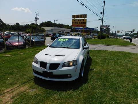 2008 Pontiac G8 for sale in Jonesboro, GA