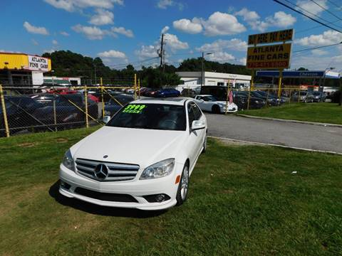 2009 Mercedes-Benz C-Class for sale at Atlanta Fine Cars in Jonesboro GA