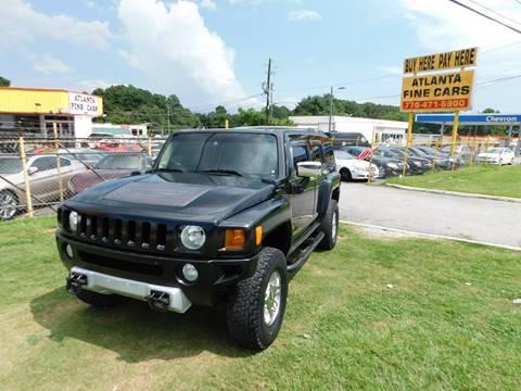 2008 HUMMER H3 for sale at Atlanta Fine Cars in Jonesboro GA