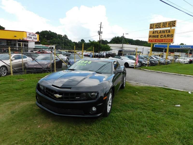 2012 chevrolet camaro ls 2dr coupe w 1ls in jonesboro ga atlanta fine cars. Black Bedroom Furniture Sets. Home Design Ideas