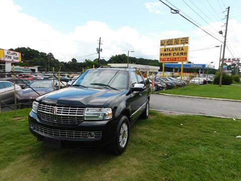 2010 Lincoln Navigator for sale at Atlanta Fine Cars in Jonesboro GA