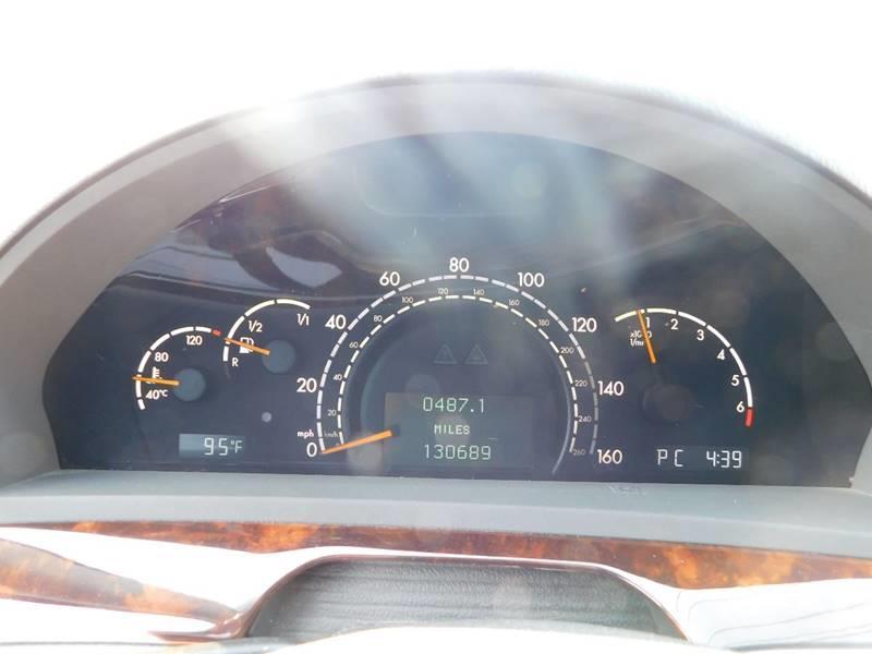 2003 Mercedes-Benz S-Class S 500 4dr Sedan - Jonesboro GA