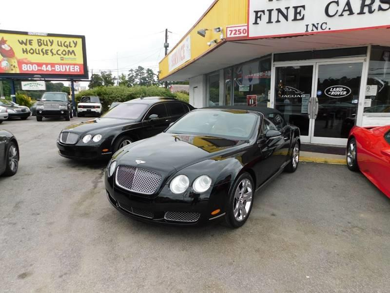2007 Bentley Continental AWD GT 2dr Convertible - Jonesboro GA